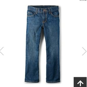 Boys Bootcut size 8 Jeans The Childrens Place